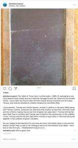 Lyttelton Museum Instagram